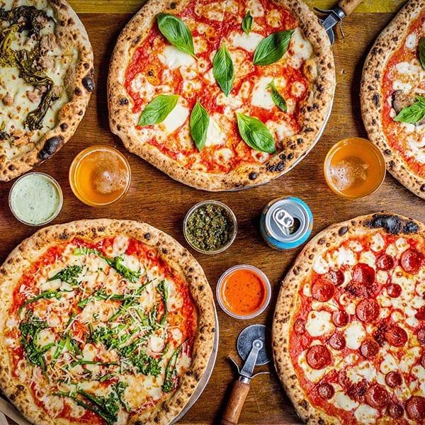 Pizza de venta de garaje