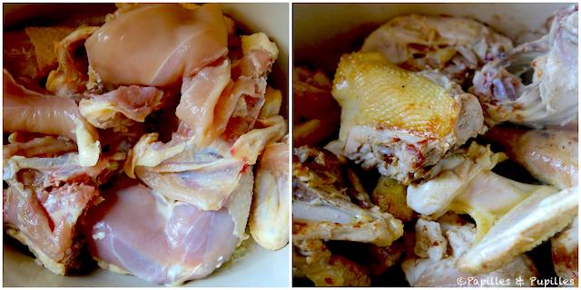 Dorar el pollo