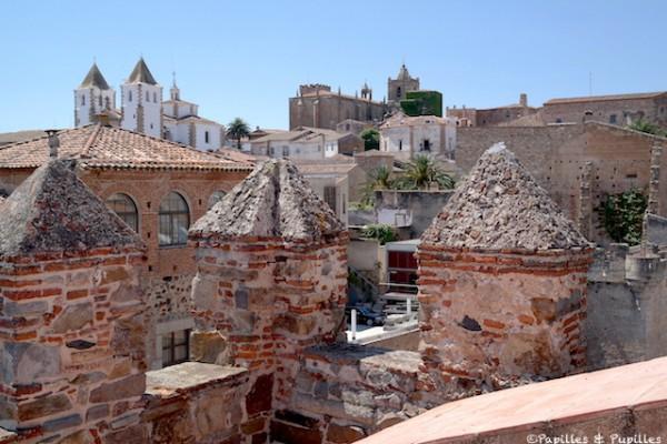 Los tejados de Cáceres