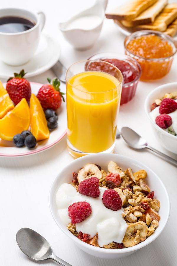 Desayuno © Olga Nayashkova Shutterstock