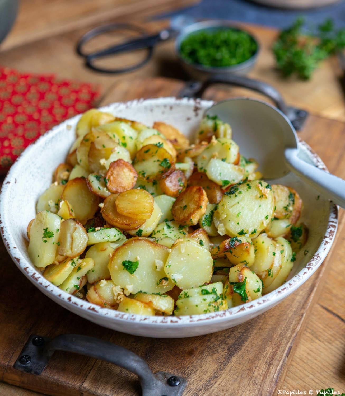 Sarladaise de patata