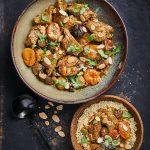 Coliflor al curry, asada al horno